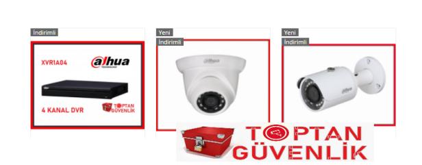 dahua güvenlik kamerası
